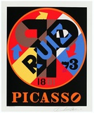 PP (Picasso) Limited Edition by Robert Indiana