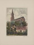 Schweidnitz, Pfarrkirche Collectable Print by  Bruck