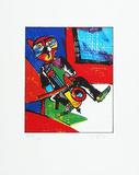 Kniegeiger (Cello) Limited Edition av Otmar Alt