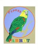 Parrot (from the American Dream Portfolio) Serigrafi af Robert Indiana
