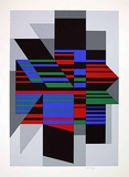 Attila Limitierte Auflage von Victor Vasarely