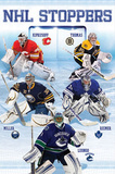 NHL Stoppers Goalies Print