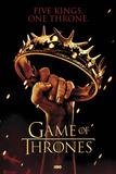 Game of Thrones-Crown Plakát