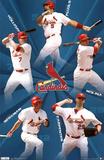 St Louis Cardinals 2011 Holliday Pujols Molina Carpenter Berkman Billeder