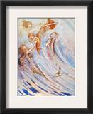 Barrie: Peter Pan Framed Giclee Print by Flora White