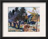 Bonnard: Landscape, 1924 Framed Giclee Print by Pierre Bonnard