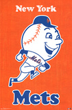 New York Mets Retro Logo Prints