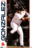 Boston Red Sox Adrian Gonzalez Posters