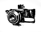 Camera Serigraph by Kyle &amp; Courtney Harmon