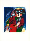 Der Kunsthändler Limited Edition av Otmar Alt
