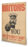 Britons Your Country - Ahşap Tabela