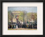 Washington Square, 1918 Framed Giclee Print by William James Glackens