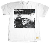Willie Nelson - Cowboy Camiseta por Jim Marshall