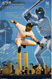 New York Yankees Derek Jeter Airways Print