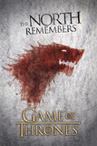 Game of Thrones-Wolf Affiches