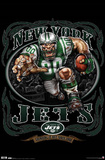 New York Jets (Mascot, Grinding It Out Since 1960) Posters