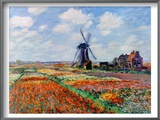 Monet: Tulip Fields, 1886 Prints by Claude Monet