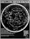Constellations of the Northern Hemisphere (Glow in the Dark) Serigraph by Kyle & Courtney Harmon