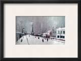 Utrillo: Eiffel Tower Framed Giclee Print by Maurice Utrillo