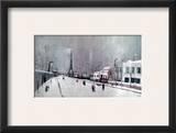 Utrillo: Eiffel Tower Framed Giclee Print by Maurice Utrillo