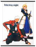 Fate Stay Night Affiche en tissu à suspendre