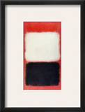 Rothko: Black & White Framed Giclee Print by Mark Rothko