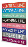 London Transport Wood Sign