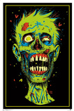 Zombie Blacklight Poster Prints