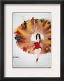 Polish Circus Poster, 1968 Framed Giclee Print by Maciej Urbaniek