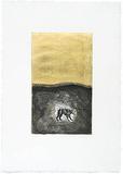 Hund, c.2002 Begränsad utgåva av Mimmo Paladino