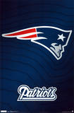 New England Patriots Logo Posters