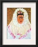 Frida Kahlo (1907-1954) Framed Giclee Print by Frida Kahlo