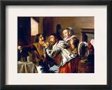 The Dentist, 1629 Framed Giclee Print by Jan Miense Molenaer