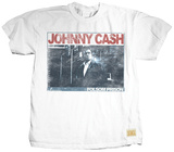 Johnny Cash - Folsom Prison (premium) T-shirts by Jim Marshall