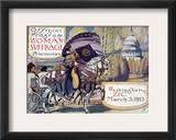 Suffragette Parade, 1913 Framed Giclee Print