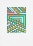 Horizontal-Vertikal-Diagonal Limitierte Auflage von Ludwig Gebhard