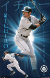 Seattle Mariners Ichiro Suzuki in Action Prints