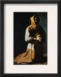 St Francis Of Assisi Framed Giclee Print by Francisco de Zubaran