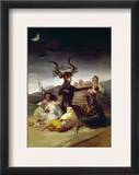 Goya: Witches Sabbath Framed Giclee Print by Francisco Goya