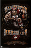 Washington Redskins (Mascot, Grinding It Out Since 1932) Poster