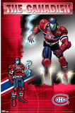 Montreal Canadiens The Canadien Guardian Posters