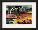 Gauguin: Day Of God, 1894 Framed Giclee Print by Paul Gauguin