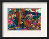 Derain: L'Estaque, Framed Giclee Print by Andre Derain