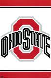 Ohio State University Logo NCAA Posters