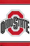 Ohio State University Logo NCAA Posters