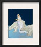 Dulac: The Ice Maiden, 1915 Framed Giclee Print by Edmund Dulac