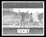 Rocky Movie (Script) Poster Print 80s Prints