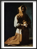 St Francis Of Assisi Posters by Francisco de Zubaran