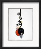 Depression Cartoon Framed Giclee Print by Otto Soglow