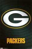 Green Bay Packers Logo Prints